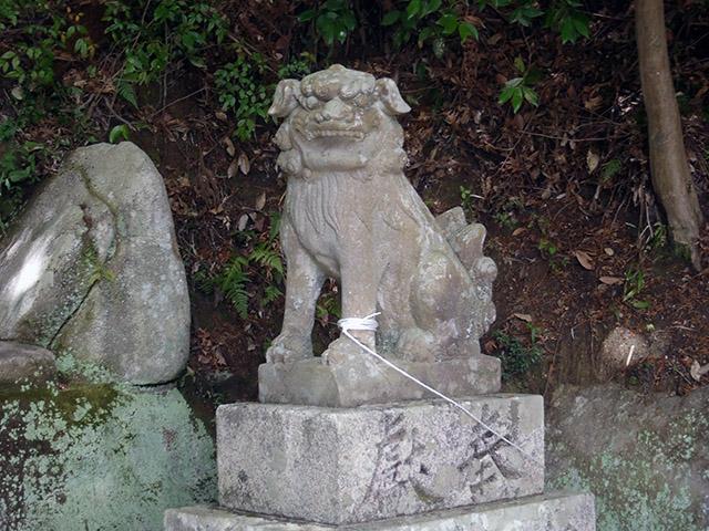 阿像の狛犬