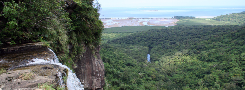 ピナイサーラの滝上からの景観