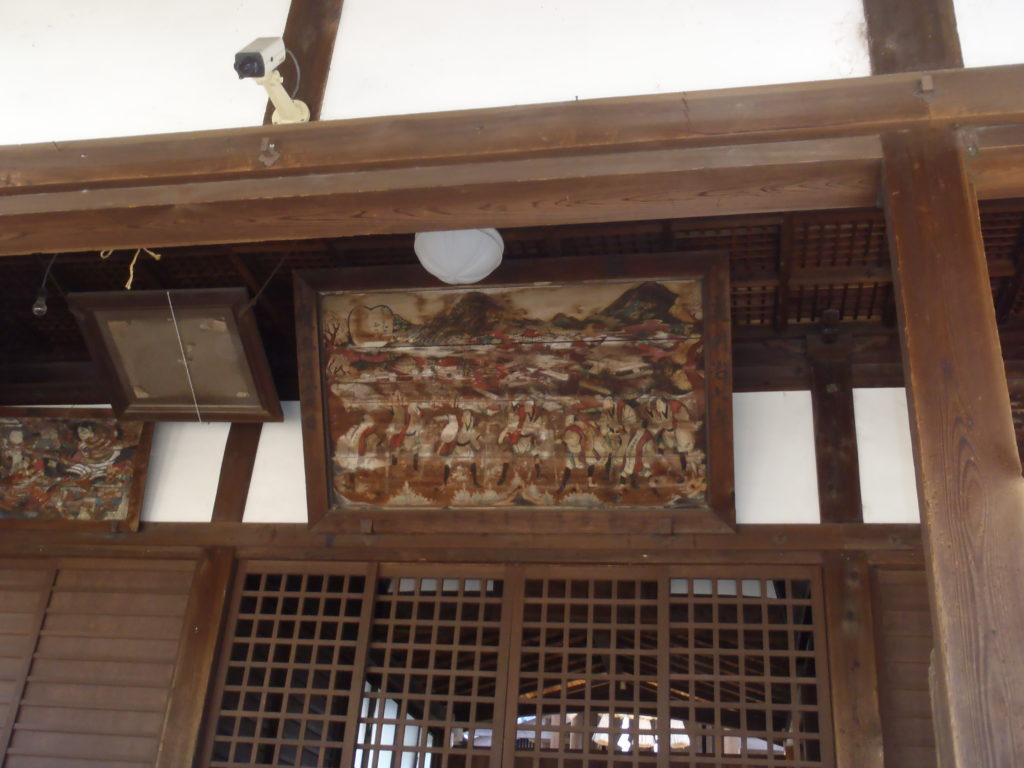 明神社 奉納額
