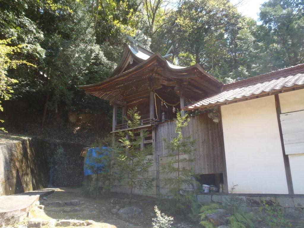 真亀山神社 本殿