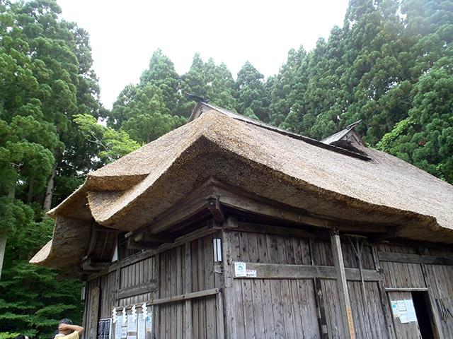 男鹿真山伝承館の外観