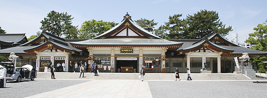 広島護国神社 本殿・拝殿
