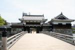 広島城 御表門と御門橋