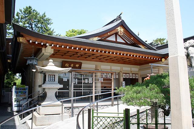 護国神社 神楽殿