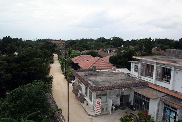 竹富島の町並み2