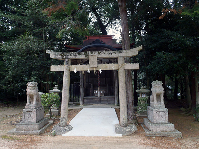 今八幡宮 八柱神社