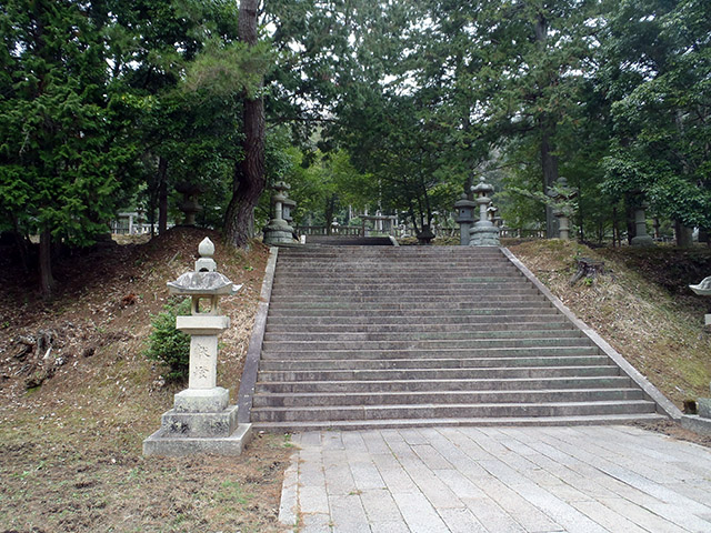 香山公園 石段