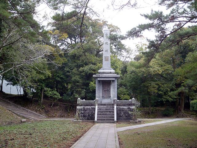 香山公園 忠魂碑