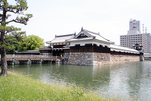 広島城 表玄関