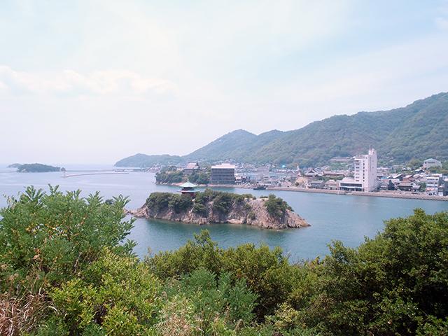 仙酔島 御膳山展望台
