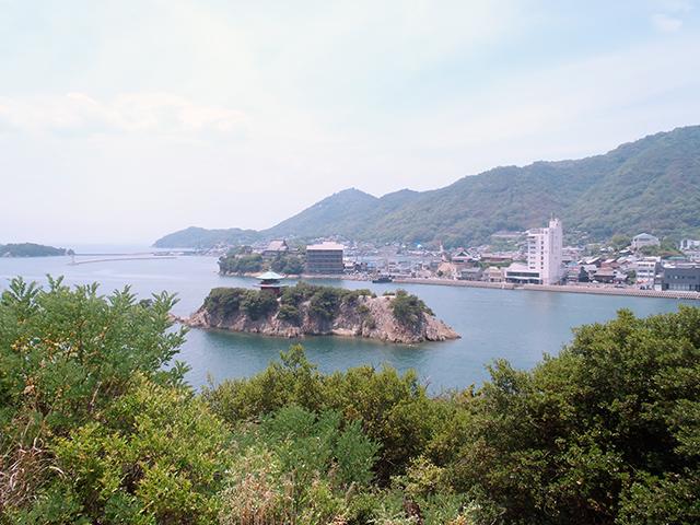 御前山展望台からの景観1