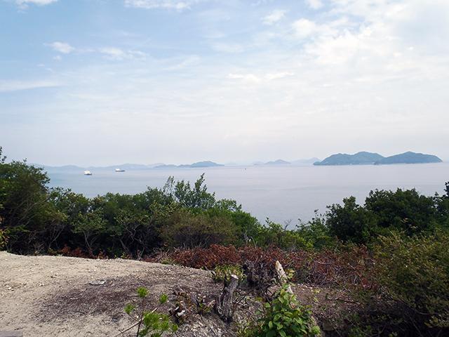 烏の口展望台からの景観1
