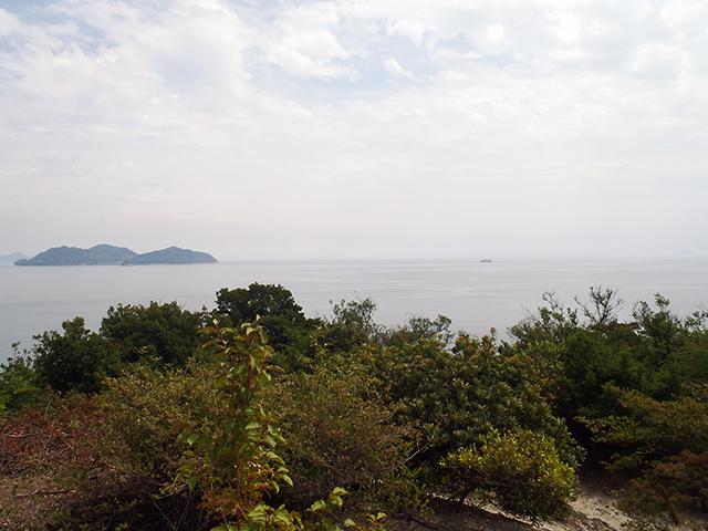 烏の口展望台からの景観2