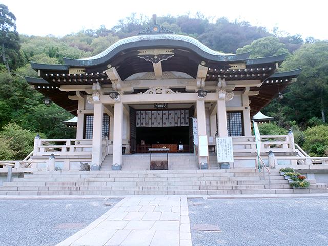 沼名前神社 社殿