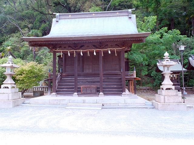沼名前神社 八幡社