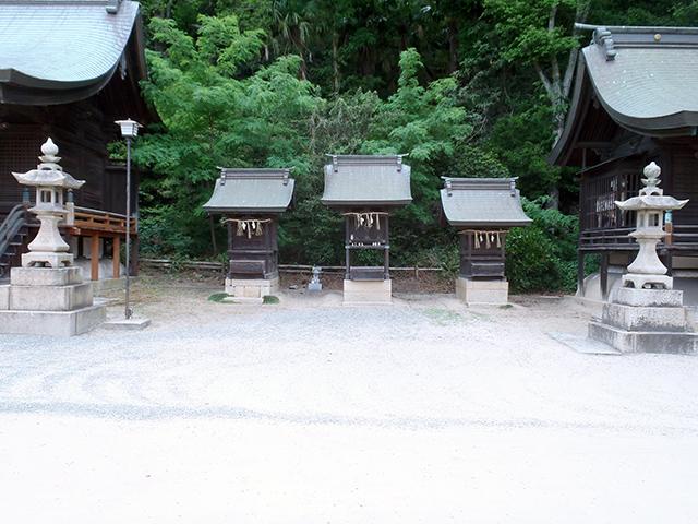 沼名前神社 七社