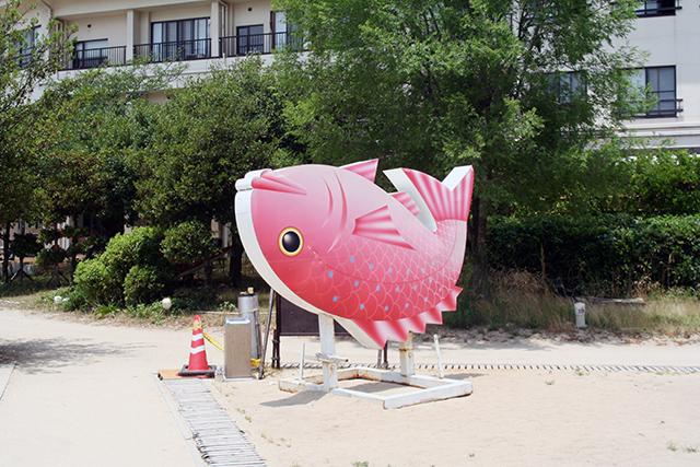 鯛のオブジェ