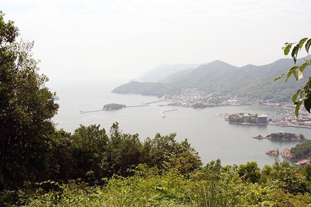 大弥山展望台からの景観2