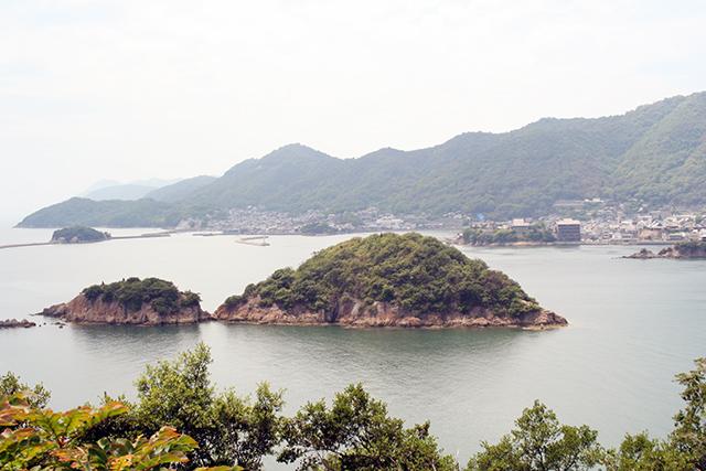 赤岩展望台からの景色1