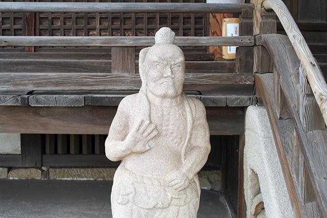 福禅寺 仁王像?