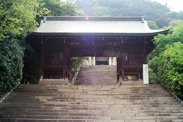沼名前神社 随身門