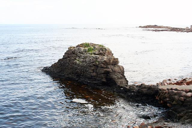 小トラ岩礁