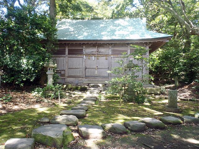 大湊神社(海宮)・拝殿