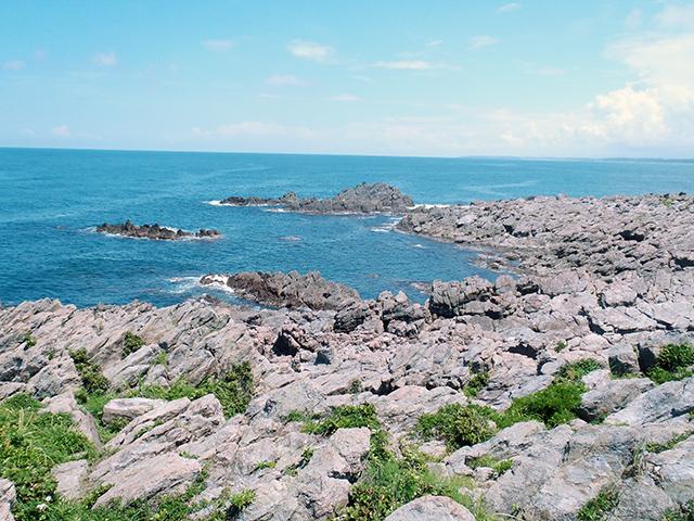 雄島・北側の海岸線