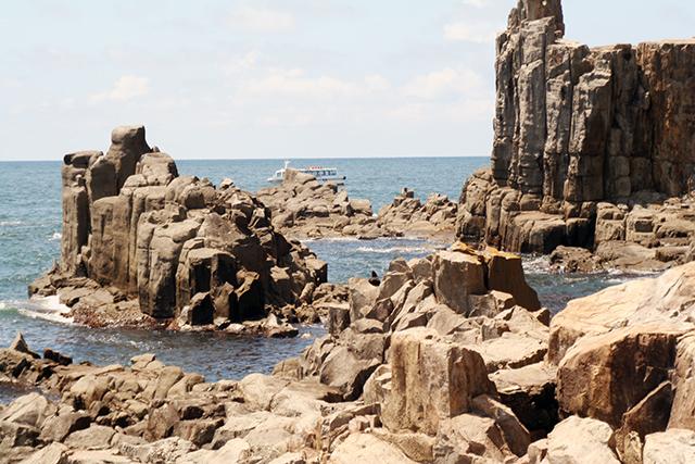 七つ岩周辺