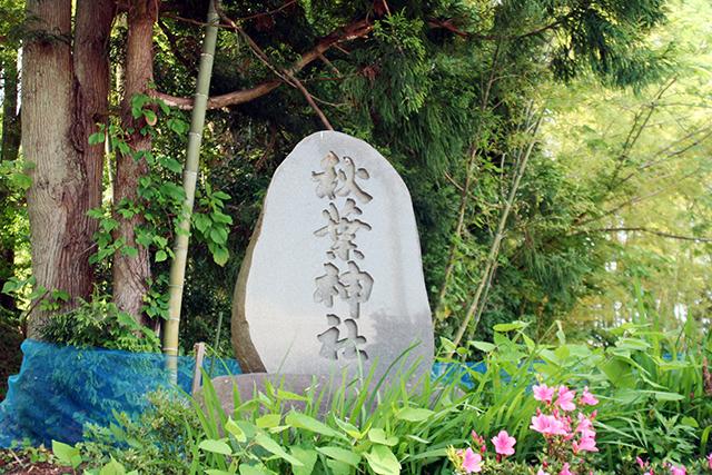 秋葉神社 門柱
