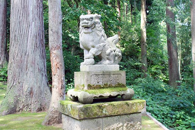 春日神社 狛犬(阿))