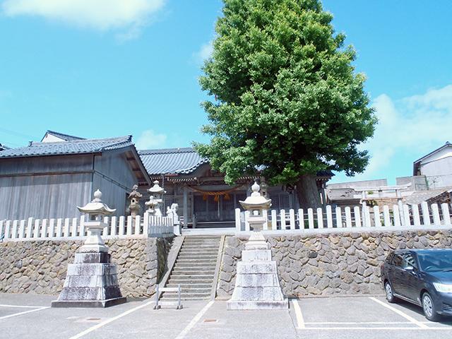 日吉神社 遠景