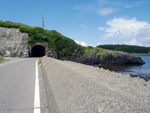 雄島隧道 遠景