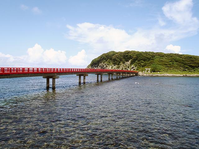 雄島 赤い橋