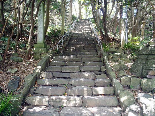 雄島 石段