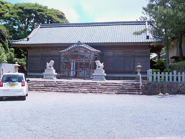 大湊神社(陸宮) 社殿