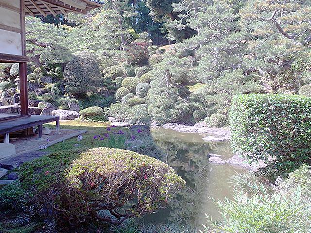 瀧谷寺 庭園