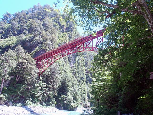 河原展望台から奥鐘橋