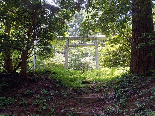 秋葉神社 石鳥居