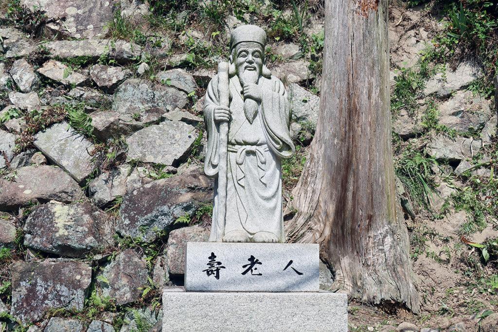 寿老人(尾長天満宮)