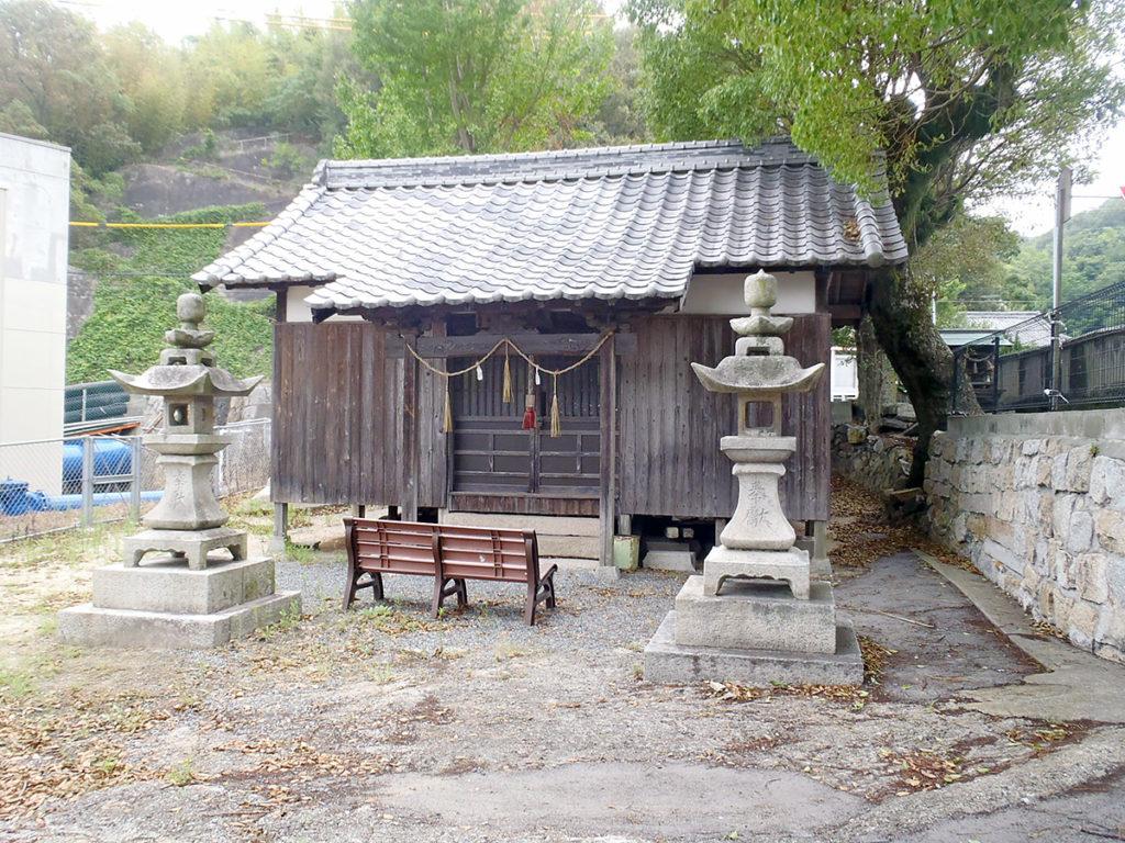 唐樋明神社 拝殿