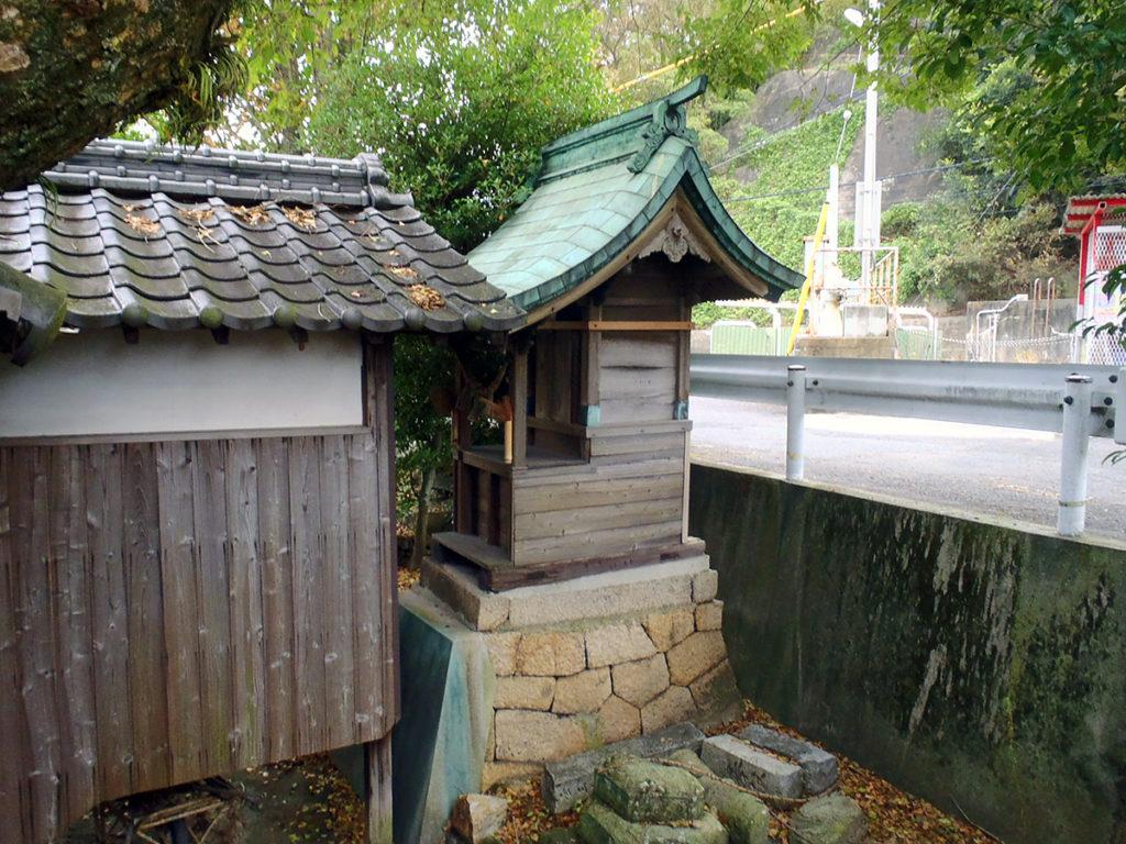 唐樋明神社 本殿