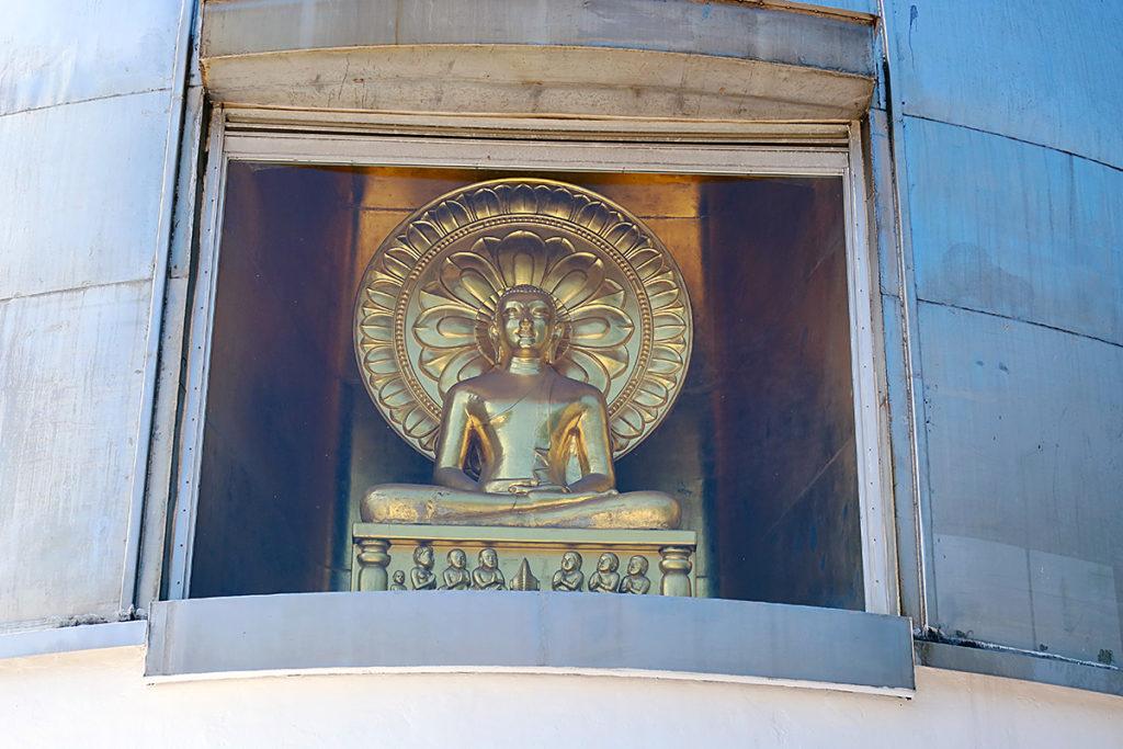 二葉山平和塔・仏像