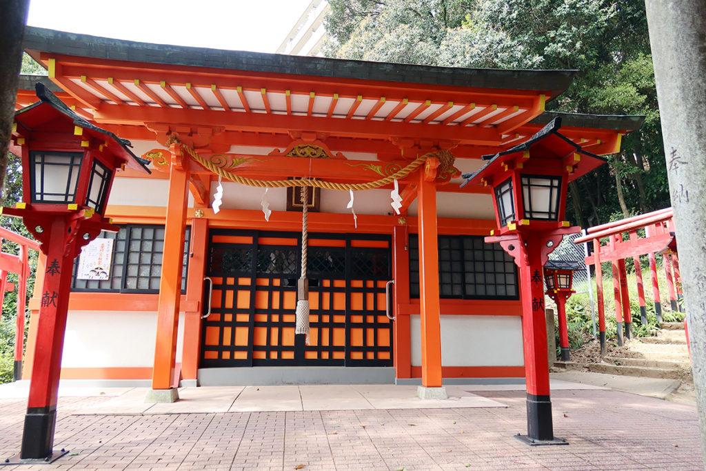 金光稲荷神社の本社