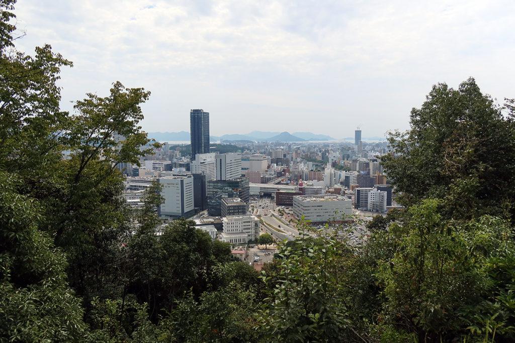 奥宮からの風景