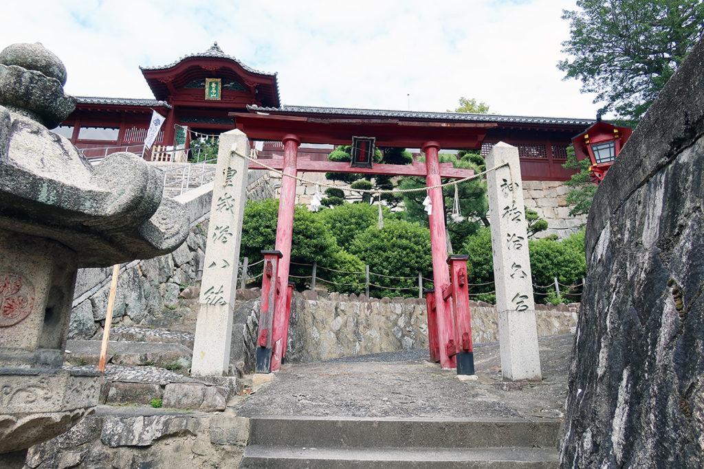金光稲荷神社の入口