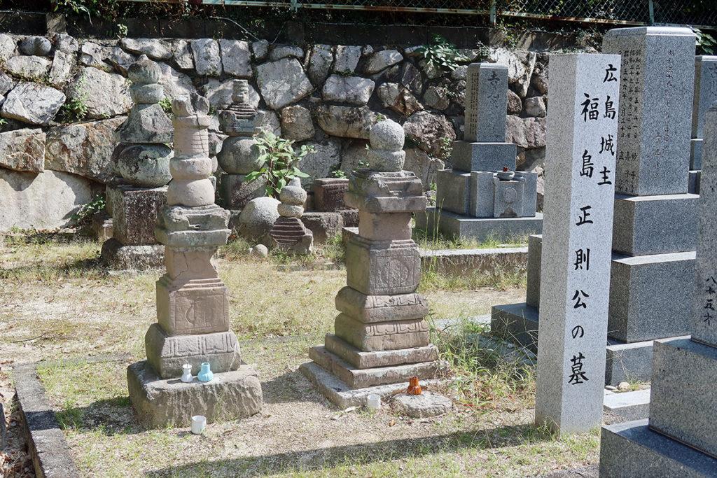 福島正則公の墓