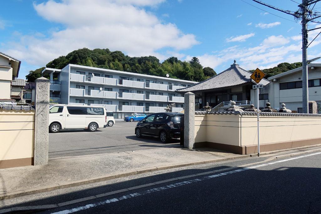 日通寺 入口周辺