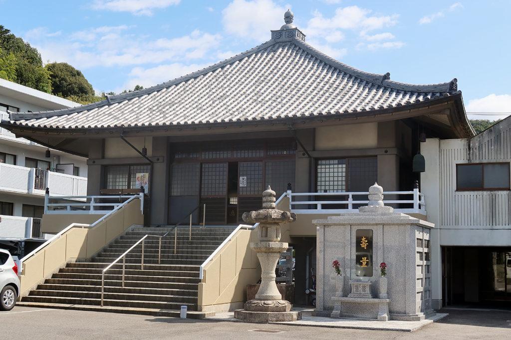 日通寺・本堂