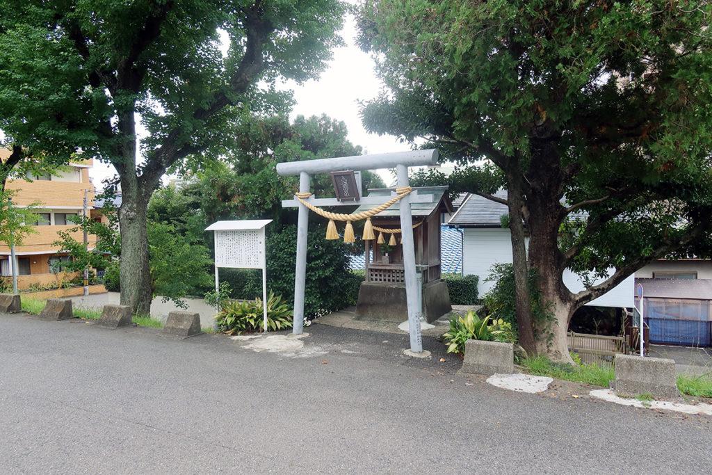 八剣神社周辺
